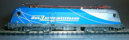 Fleischmann N 731110 MittelWeserBahn E-Lok Rh1116 Taurus Baureihe 182