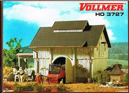 Vollmer H0 3727 Scheune mit Tenne