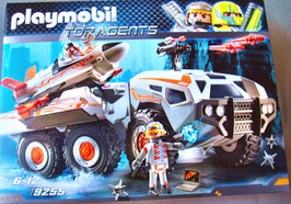 Playmobil 9255 Spy Team Battle Truck TOP AGENTS