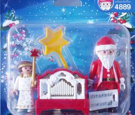Playmobil 4889 Engelchen mit Nikolaus und Leierkasten