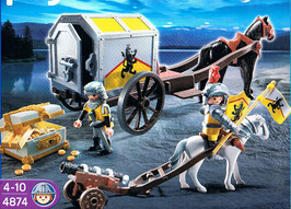 Playmobil 4874 Goldtransport der Löwenritter