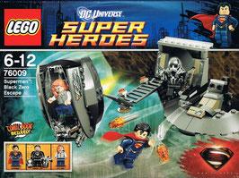 Lego 76009 Super Heroes Superman Black Zero auf der Flucht