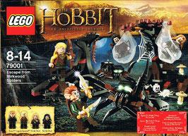 Lego 79001 Der Hobbit Flucht vor den Düsterwaldspinnen