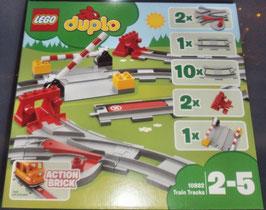 Lego Duplo 10882 Eisenbahn Schienen Train Tracks
