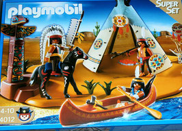 Playmobil 4012 Indianerlager, SuperSet