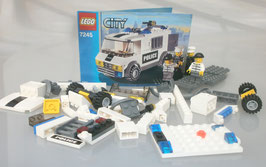 Lego City 7245 Gefangenentransporter