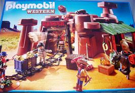 Playmobil 5246 Goldmine mit Sprengkiste