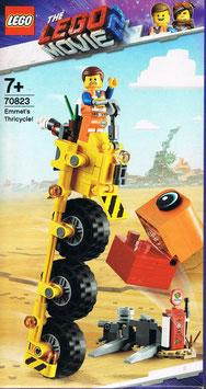Lego The Movie 70823 Emmets Dreirad