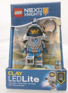 Lego Nexo Knights Clay Minitaschenlampe und Schlüsselanhänger