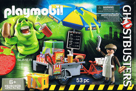 Playmobil 9222 Ghostbusters Slimer mit Hog Dog Stand