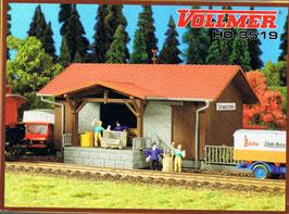 Vollmer H0 3519 Bahnstation Schwarzhofen