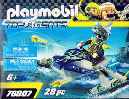 Playmobil 70007 Team S.H.A.R.K. Rocket Rafter Top Agents