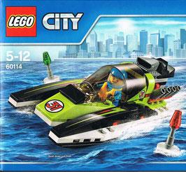 Lego City 60114 Schnellboot