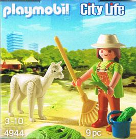 Playmobil 4944 Tierpflegerin mit Alpaka