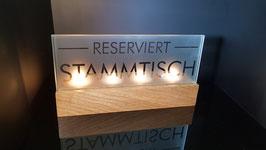 Reserviert STAMMTISCH (groß)