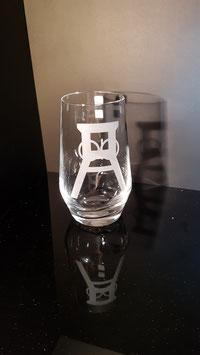 Förderturm - Trinkglas