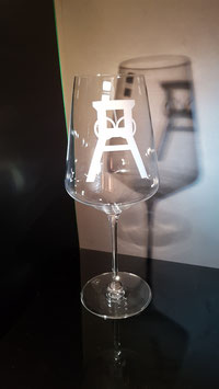 Förderturm - Rotweinglas