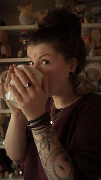 Großer Latte macchiato für LaCritza
