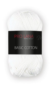 Pro Lana Basic Cotton - Farbnr. 01