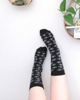 Grinse-Socken