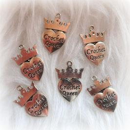 """Charm """"Crochet Queen"""""""