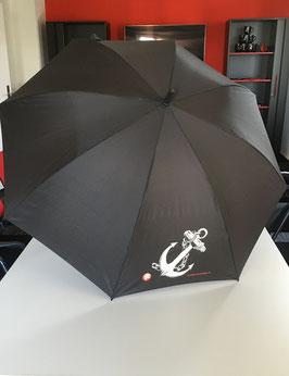 Eleganter Regenschirm mit  Tiertafel-Logo