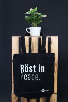 "Jutebeutel ""Röst in Peace."""