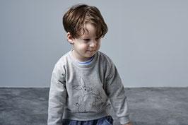 Sweatshirt Hasen Grau