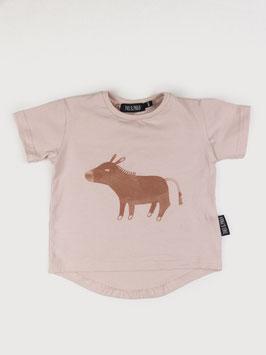 "Kurzarm T-Shirt ""Emil"" Puder"