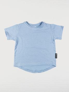 Kurzarm T-Shirt Babyblau