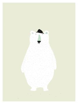 Polar Bär Poster von Trixie