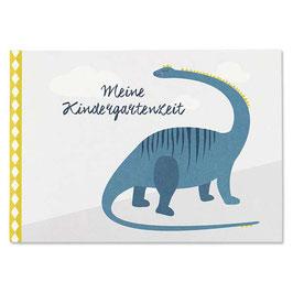 Meine Kindergartenzeit Dinos, 36 Seiten A5 von Ava & Yves
