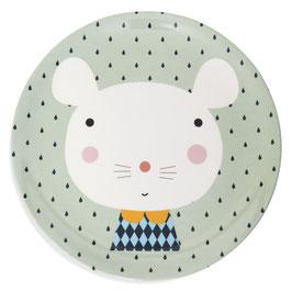 Melamin Teller Maus  von Petit Monkey