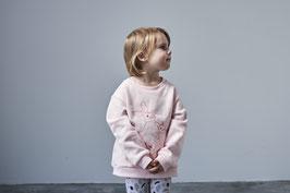 Sweatshirt Hasen Rosa