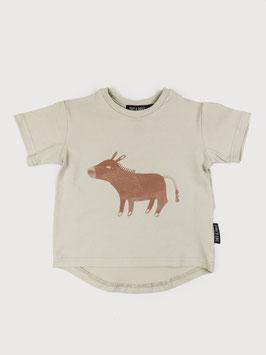 "Kurzarm T-Shirt ""Emil"" Beige"