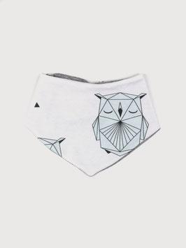 Wende-Halstuch Geo Owl