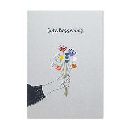 Postkarte 'Gute Besserung'