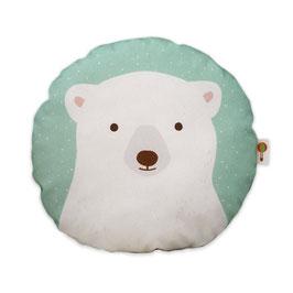 Kleines Kissen Eisbär