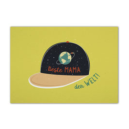 Postkarte 'Beste Mama der Welt'