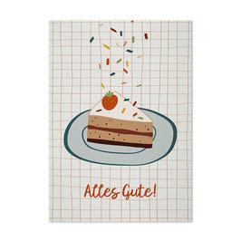 Postkarte 'Alles Gute!'