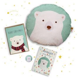 Weihnachts-Set Eisbär