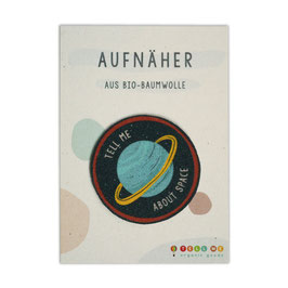 Aufnäher Planet 'Tell Me About Space'