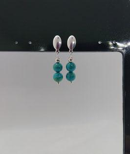 Boucles d'oreilles  turquoise d'Arizona
