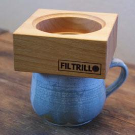 Filtrillo 100 Cherry - Kaffeefilter aus Kirschholz