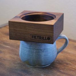 Filtrillo 100 Walnut - Kaffeefilter aus Nussholz