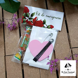 Kit de emergencia rosas rojas
