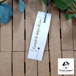Bengala + cartón dorado rectangular