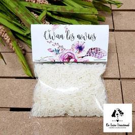 Bolsita de arroz colección plumas