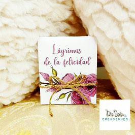 Lágrimas de la felicidad colección flores lilas