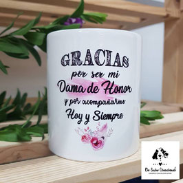 Taza dama de honor 3